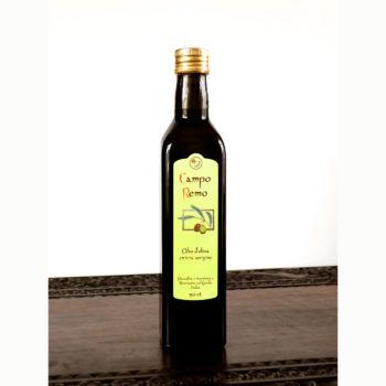 Olivenöl 50cl fruttato in grüber Maraskaflasche