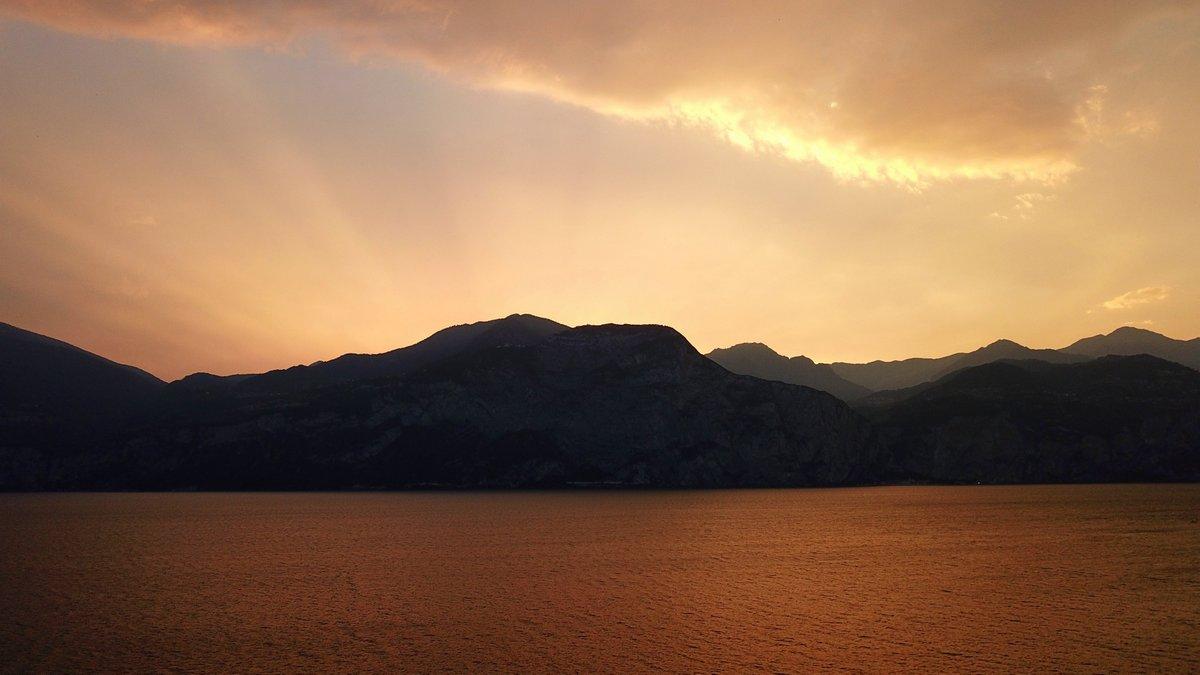 Sonnenuntergang am Lago di Garda